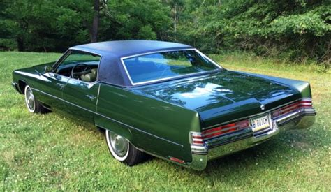1972 Buick Electra 225 For Sale by Buick Electra Hardtop 1972 Green For Sale 4v39t2h479317