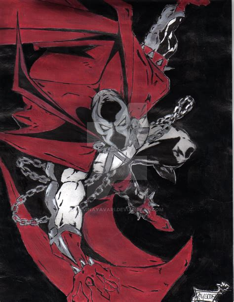 Spawn 5k By Lovinayavari On Deviantart