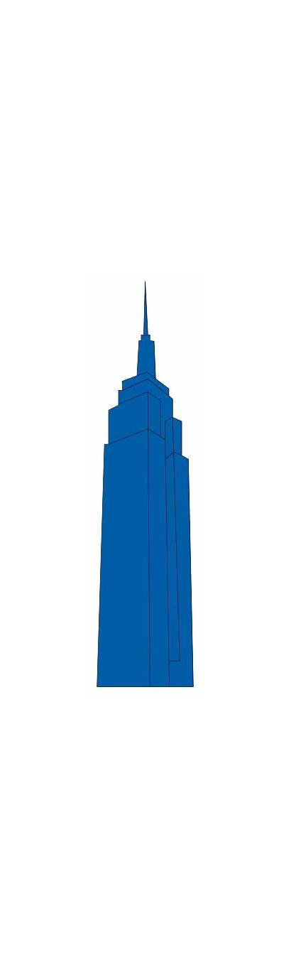 Svg Building Empire State Landmarks Icons Commons