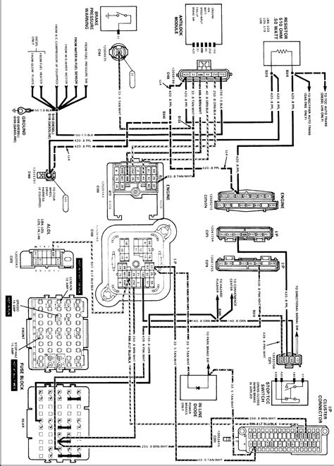 1989 Chevy Wiring Diagram by I A Customer With A 1989 Chevy K2500 And The
