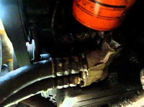 crown victoria oil leak repair oil filter adapter