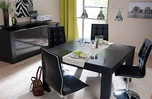 table rabattable cuisine paris table salle a manger With meuble salle À manger avec table salle a manger extensible conforama