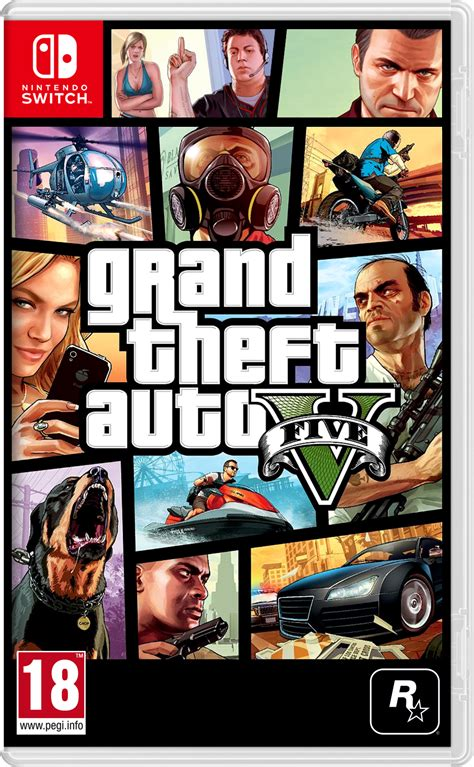 Grand Theft Auto V Switch box art mock-up by meta1501 on ...