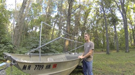 Jon Boat Duck Blind Ideas by Duck Blinds For Boats Ftempo