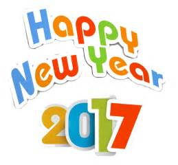 Transparent Happy New Year 2017