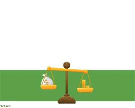 balanza template powerpoint free money management powerpoint template