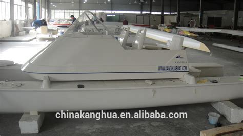 Catamaran With Engine by New Design Fiberglass Catamaran For Coach Boat With Honda