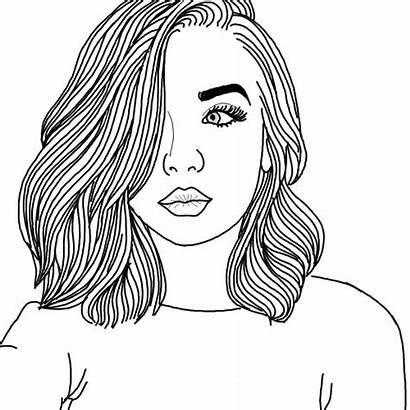 Outlines Picsart Drawing Drawings Those Aesthetic Sketches