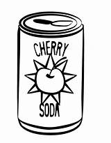 Coloring Drinks Pages Soda Drink Cans Drawing Colouring Printable Coke Cola Clipart Cliparts Soft Template Coca Getcolorings Printables Clipartmag Getdrawings sketch template