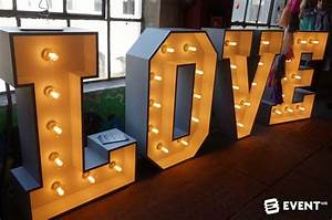 17 amazing event lighting effects With giant letters for events