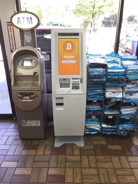 bitcoin atm  atlanta chevron gas station