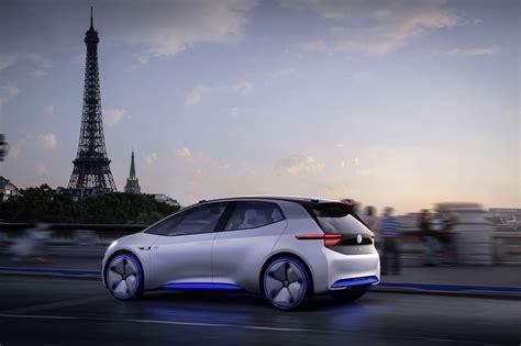 Volkswagen Id Concept Will Showcase An Electric Sedan