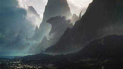 Godzilla Head Maldive Islands 1080p Desktop Resolution