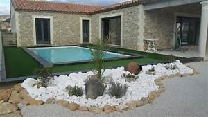 Decoration jardin avec galets 0 pierres et decor for Decoration jardin avec galets