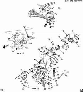 1998 Cadillac Deville Rear Suspension
