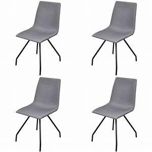 Stühle Mit Stoffbezug : st hle von vidaxl g nstig online kaufen bei m bel garten ~ Lateststills.com Haus und Dekorationen