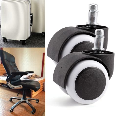desk chair replacement wheels new 10pcs polyurethane rubber office chair casters