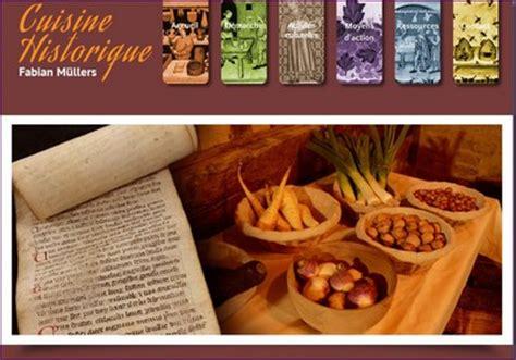cuisine historique oldcook informations gastronomie médiévale