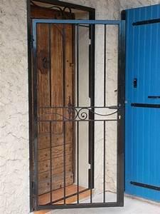 grille pour porte d entree aix en provence la petite forge With grille de sécurité pour porte d entrée