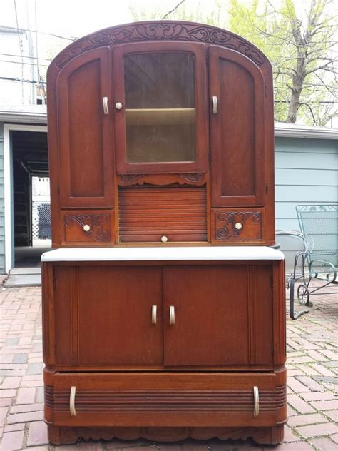 what is my hoosier cabinet worth hoosier cabinet like value my antique furniture collection