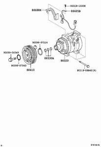 Scion Tc A  C Compressor Clutch  Clutch  Magnet  Conditioning  Electrical  Air