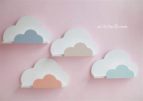 Cloud 9 Home Decor : Cloud,shelf,cloud Shelf,cloud Nursery Decor,cloud Kids