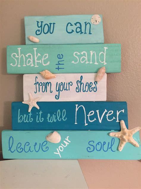 pin  michelle coker  wood work beach signs wooden