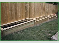 Build Raised Garden Bed Along Fence The Best of Bed