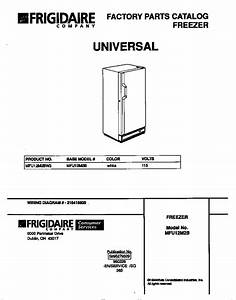 Universal  Multiflex  Frigidaire  Upright Freezer Parts