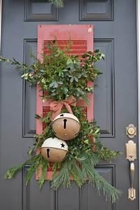 Decoration De Porte : 13 d coration de no l pour la porte d entr e design feria ~ Teatrodelosmanantiales.com Idées de Décoration