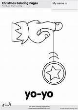 Coloring Yo Yoyo Simple Way Santa Super Songs Song Printables Supersimple sketch template