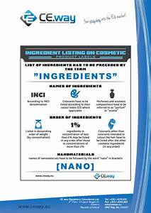 ingredient listing on cosmetic product labels With how must ingredients be listed on cosmetic labels