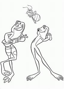 Princess and the Frog Coloring Pages - ColoringPagesABC.com