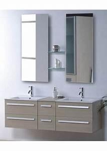 salle de bain meuble riviera2 beige meuble salle de With meuble de salle de bain contemporain