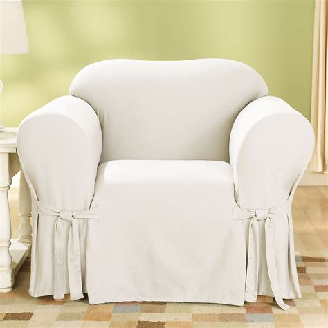 sure fit slipcovers chair sure fit slipcovers cotton duck chair slipcover atg stores