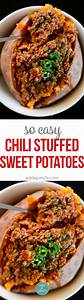 Chili Stuffed Sweet Potatoes Recipe Add a Pinch