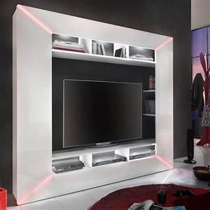Tv Wand Modern : die besten 25 tv wand hochglanz ideen auf pinterest ~ Michelbontemps.com Haus und Dekorationen