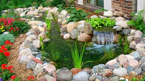 40 Stone And Rock Garden Decoration Ideas 2017