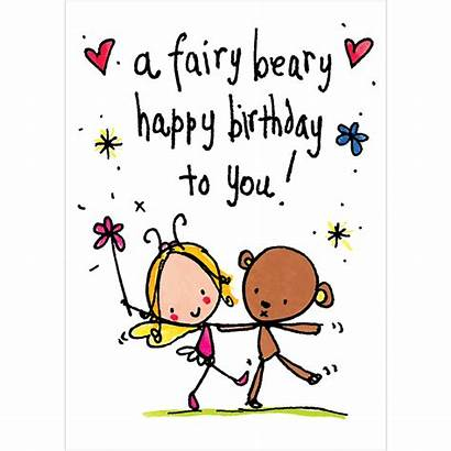 Birthday Happy Fairy Wishes Cards Lucy Juicy