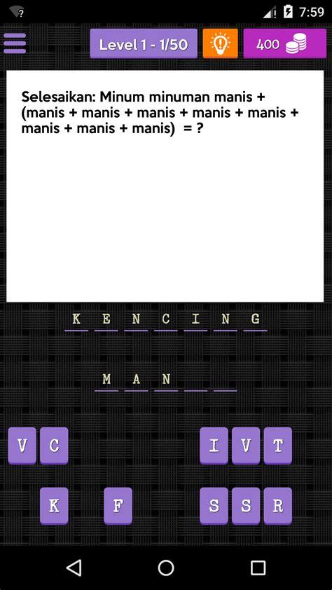 Ianya akan menguji minda anda ketika anda cuba untuk mencari jawapan bagi teka teki yang diajukan. Jawapan Untuk Jom Teka Teki - F44mo4ow
