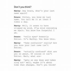Drarry - Harry ... Drarry Book Quotes