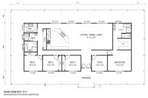 40X60 Metal Building Home Plans