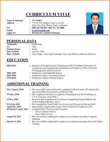 10 writing a curriculum vitae budget template letter