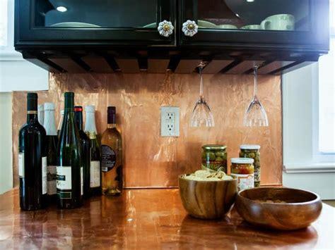 copper backsplash kitchen ideas copper backsplash ideas pictures tips from hgtv hgtv 5784