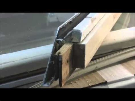 part  biltbest oldach pella metal clad door window casement sash frame diy repairs youtube
