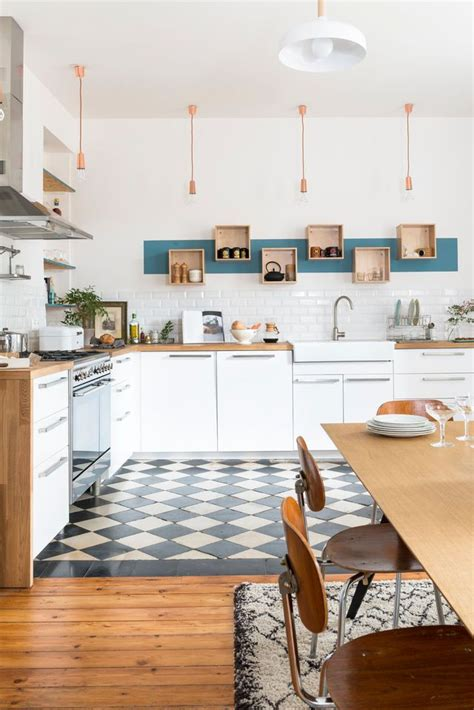 dans la cuisine de cuisine carreaux ciment 12 photos de cuisines tendance