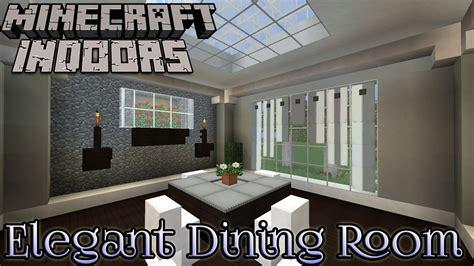Elegant Dining Room  Minecraft Indoors Interior Design