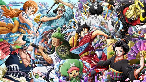 Wallpapers in ultra hd 4k 3840x2160, 1920x1080 high definition resolutions. One Piece Wano HD Wallpapers - Top Free One Piece Wano HD Backgrounds - WallpaperAccess