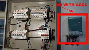 Three Phase Db Installation With Changeover Switch