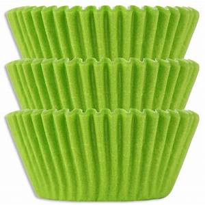 Lime Green Baking Cups Layer Cake Shop